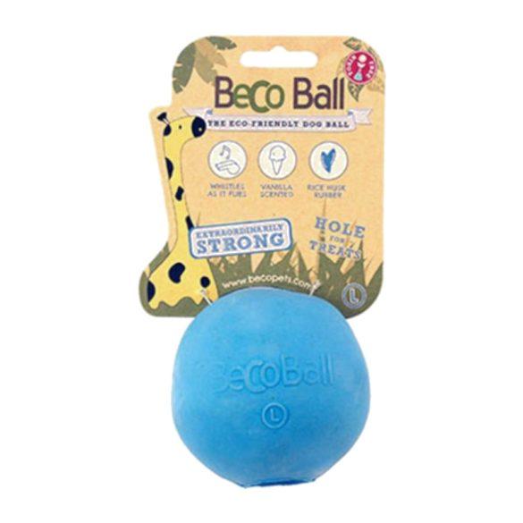 Beco Pets jutalomfalattal tölthető labda - kék