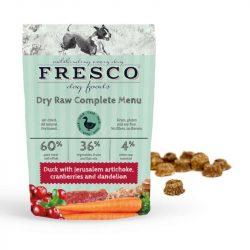 Fagyasztva szárított nyers komplett menü – Kacsa 1 kg (Fresco)
