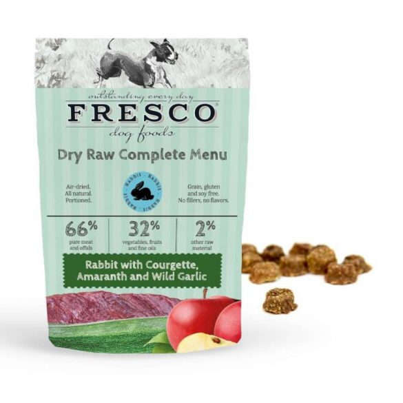Fagyasztva szárított nyers komplett menü – Nyúl 1 kg (Fresco)