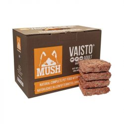 Mush Brown 10 kg (marha-bárány-lazac)